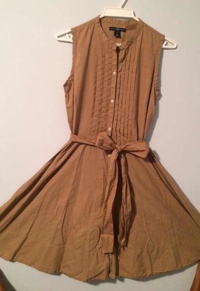 Vestido Casual Gap Original Marron Talla M