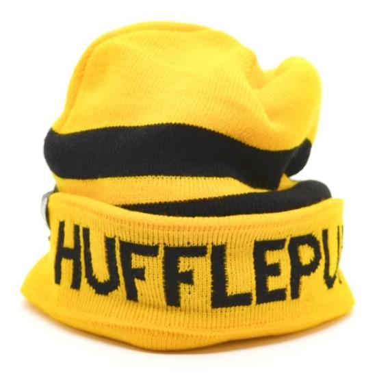 Gorro Hufflepuff House Oficial Harry Potter