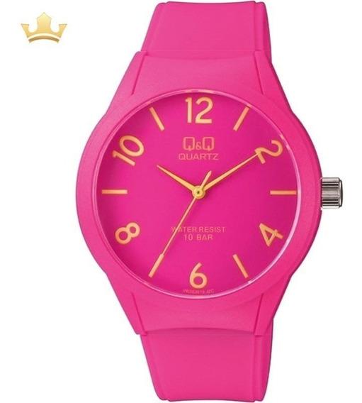 Relógio Q&q By Japan Feminino Vr28j019y Com Nf