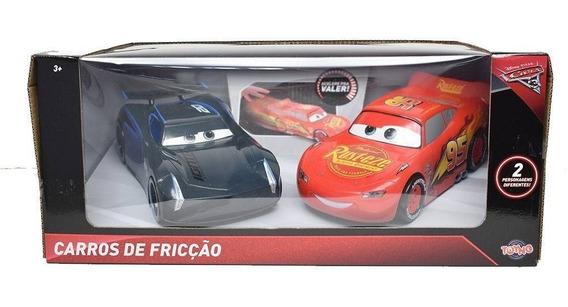 Carros Mcqueen Vs Jackson Storm Fricçao 22 Cm