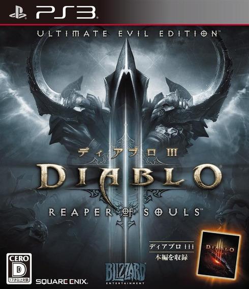 Diablo 3 Reaper Of Souls Portugues Ps3 - Midia Digital