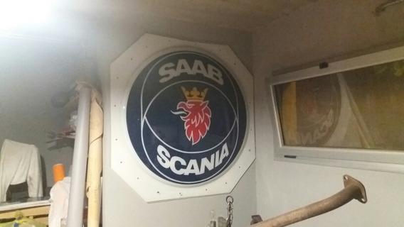 Cartel Acrilico Saab Scania