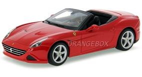 Ferrari California T Conversivel Bburago 1:18 16007-vermelho