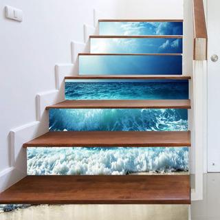 Vinil Adhesivo Laminado Decorativos Para Escaleras Escalones Varios Modelos Facil De Limpiar Y Aplicar