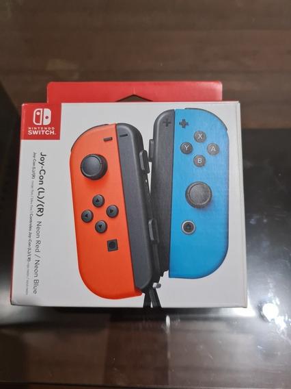 Joycons Vermelho E Azul Seminovos - Nintendo Switch