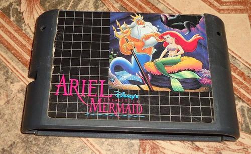 Ariel - The Little Mermaid - Mega Drive