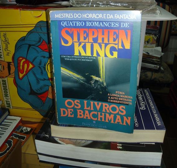 Os Livros De Bachman Stephen King Francisco Alves Raríssimo