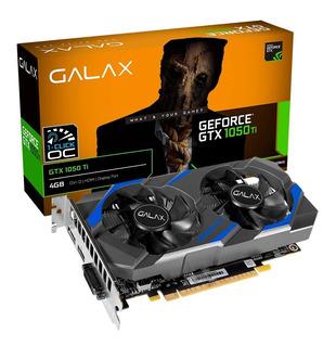 Placa De Vídeo Galax Gtx 1050ti 4gb 1-click Oc - Em Até 12x