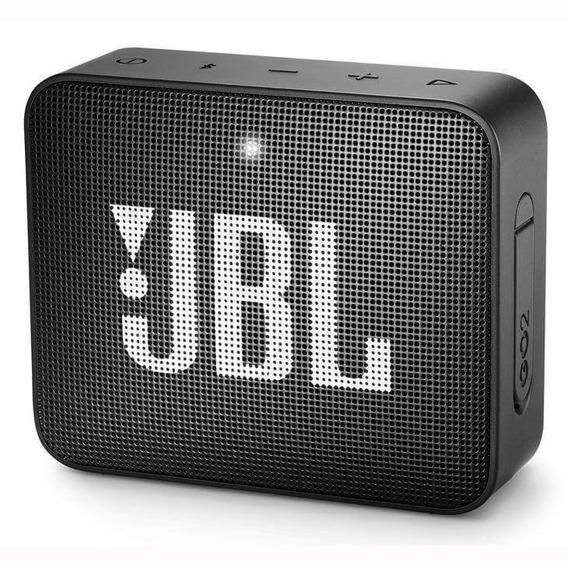 Caixa De Som Portatil Bluetooth Jbl Go2 Preta