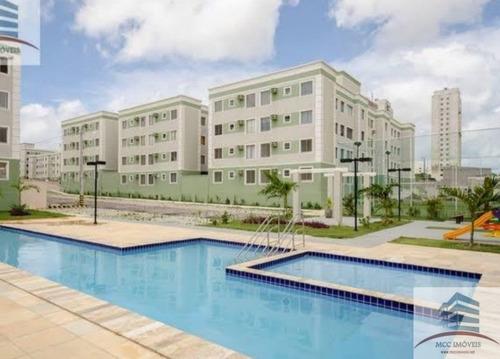 Apartamento A Venda Residencial Barcas,nova Parnamirim