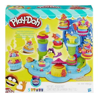 Play Doh Cupcakes Celebración Masa Fiesta Pastelitos B1855