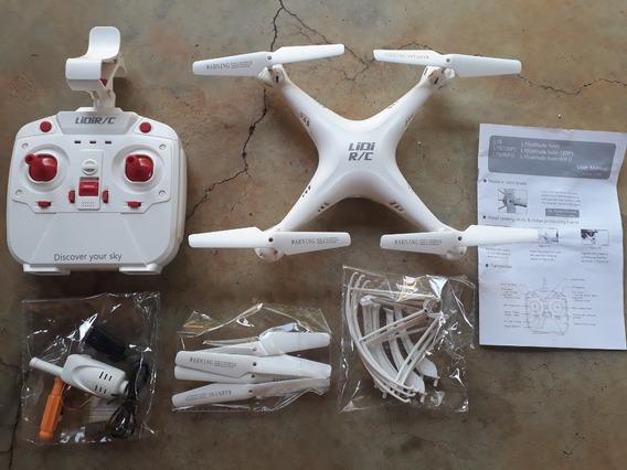 Drone Lidi L15 2.4ghz Câmera Hd 720p Fpv Wifi Zerado