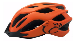 Capacete Bike Ciclismo Mtb Jet Matrix Laranja Fosco M 55-58