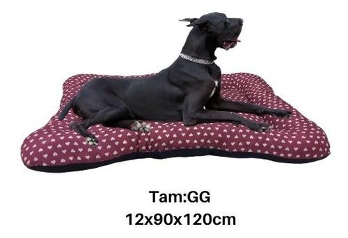 Imagem 1 de 3 de Colchonete Cama Cães E Gatos Gg 12x90x120cm