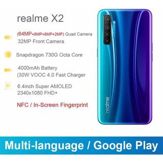 Smartphone Oppo Realme X2 64mp 8gb Ram
