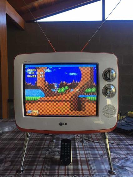 Tv LG Retro 14 Polegadas Retrogame