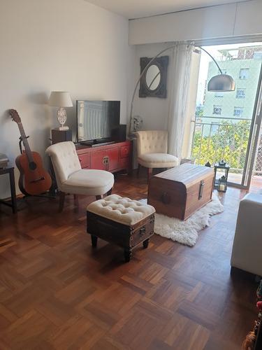 Luminoso Apartamento En Pocitos
