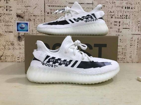 Tênis adidas Yeezy 350v2 X Off White Encomenda Top 2 Cores