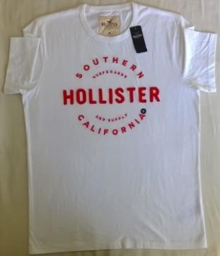 Camiseta Hollister 100% Originais Importadas