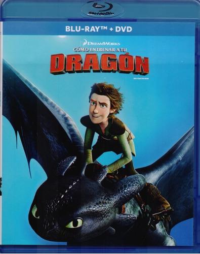 Imagen 1 de 3 de Como Entrenar A Tu Dragon Pelicula Blu-ray + Dvd
