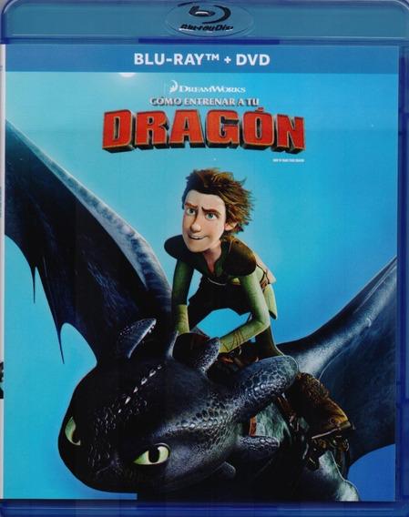 Como Entrenar A Tu Dragon Pelicula Blu-ray + Dvd