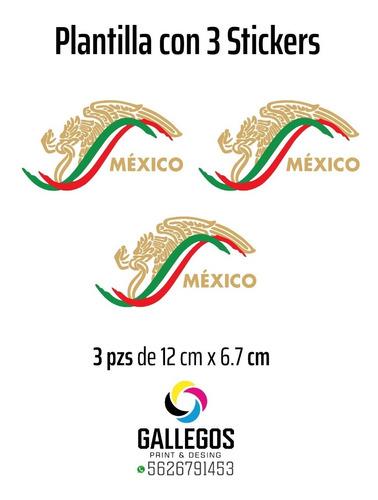 Imagen 1 de 2 de Sticker Escudo México