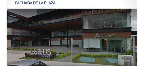 Local Comercial En Venta Plaza Luxus