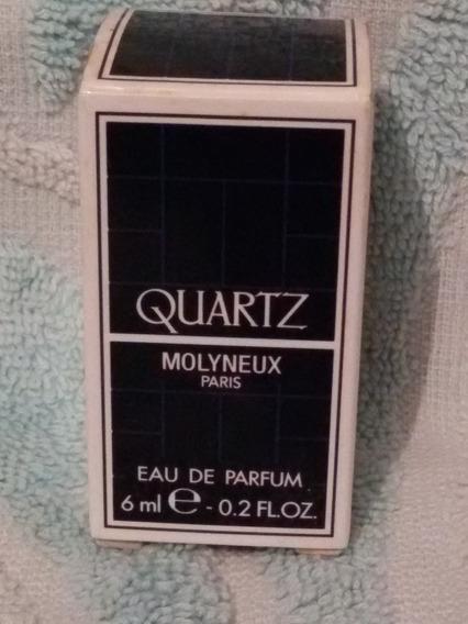 Antiga Embalagem Caixa Vazia Do Perfume Quartz- Nº 4816n