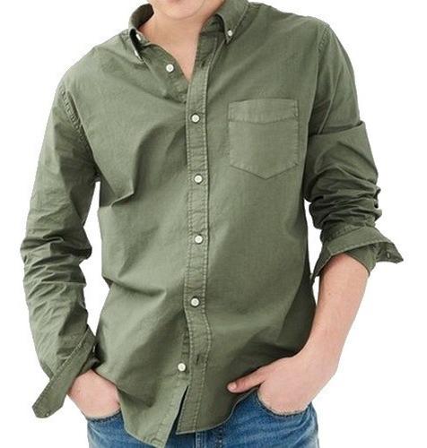 M, L - Camisa Aeropostale Verde C13ap Ropa Hombre Original