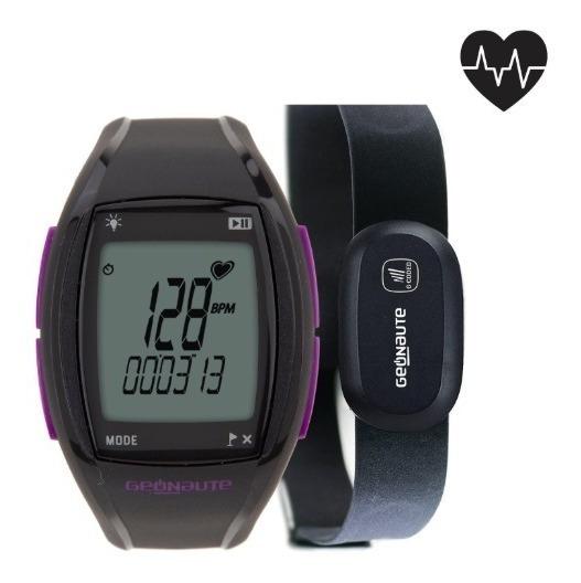 Relógio Cardio Codificada Onrhythm 410 Violeta Geonaute