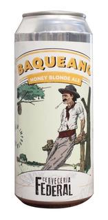 Cerveza Federal - Honey - Lata 473 Cm Pack X 24 - Artesanal