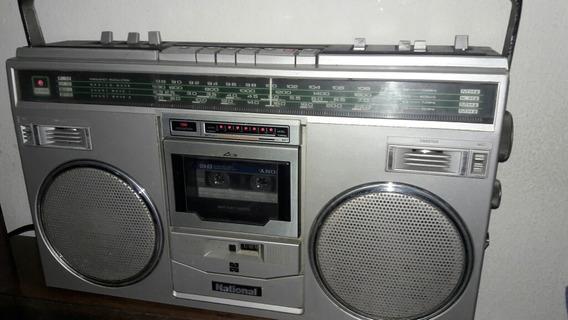 Radio Gravador National Anos 80.(precisa Reparo)