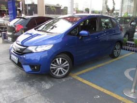 Honda Fit 1.5 Ex Flex Aut. 5p 2015 Azul