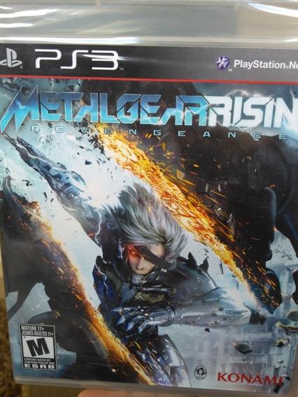 Metal Gear Rising Ps3 Original , Leia A Descrição