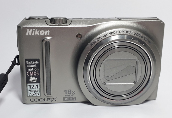 Câmera Digital Nikon Coolpix S9100 No Estado