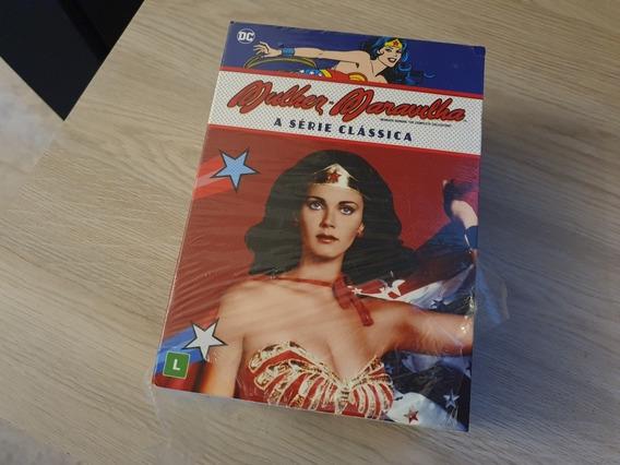 Dvd Box Mulher Maravilha Original Novo