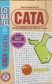 Kit 200 Caça Palavras De Bolso Mini Coquetel Atacado