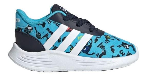Zapatillas adidas Lite Racer 2.0 Niños Bebes Vs Colores Abc
