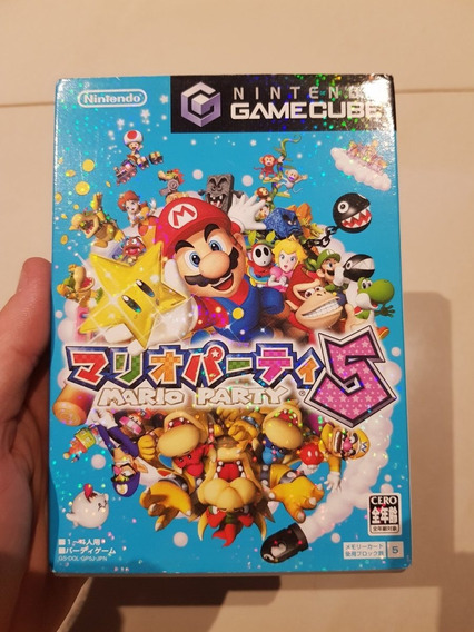 Mario Party 5 Nintendo Gamecube Original Japones Excelente
