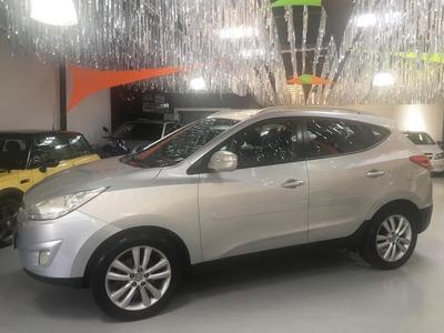 Hyundai Ix35 Completo 2013 Automático Prata Bancos Com Couro