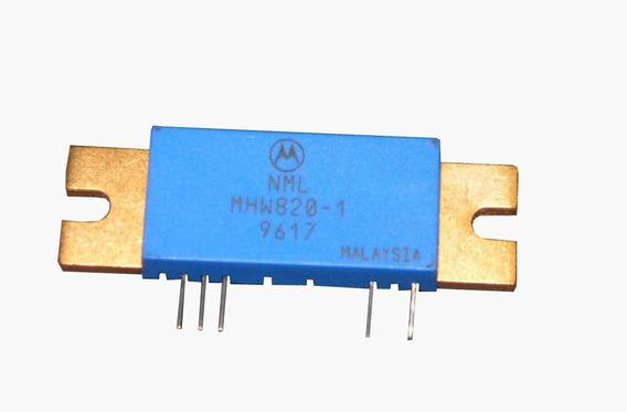 Modulo Amplificador Rf 100mhz - 900mhz - 20w @ 12v | 22db