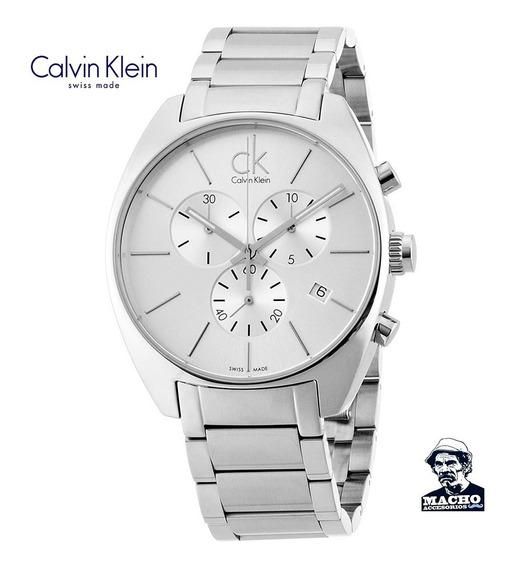 Reloj Calvin Klein Exchange K2f27126 En Stock Original Suizo