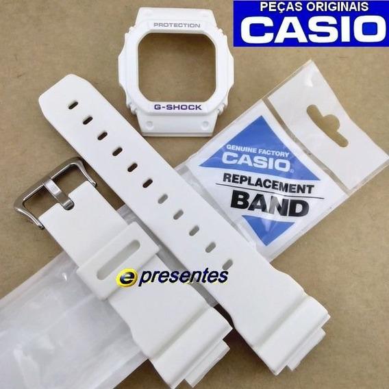 Pulseira Bezel G-5600a-7 Gw-m5600 Casio G-shock Branco Fosco