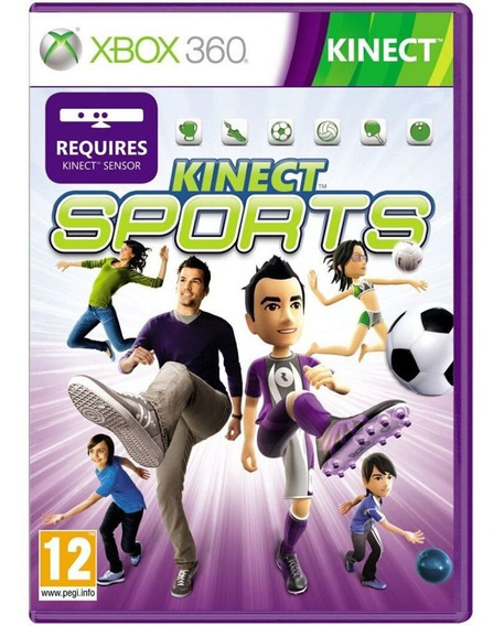 Kinect Sports 1 ( Boliche ) Xbox 360 Midia Física