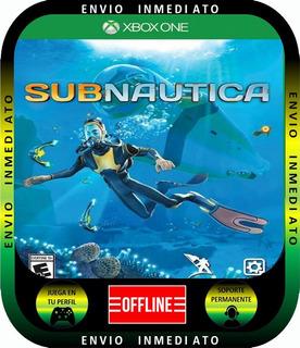 Sub Nautica Xbox 1 Local Mode