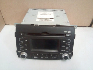 Radio Am/fm Som Cd Mp3 Kia Sorento Original 3.5 2010 A 2014