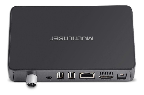 Smart Tv Box Multilaser Android + Conversor Digital - Pc001