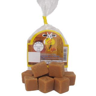 Doce De Leite Em Tabletes Kit Com 15 Pacotes De 200gr Cada