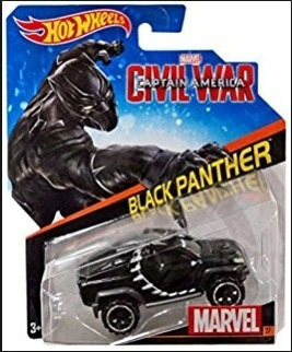 Hot Wheels Black Phanter (pantera Negra) - Marvel