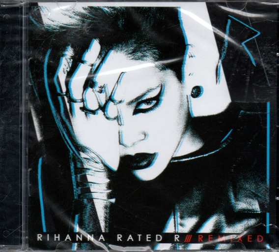 Cd Rihanna Rated R - Remixed